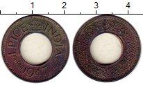 Изображение Монеты Индия 1 пайс 1947 Медь XF