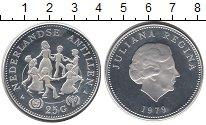 Изображение Монеты Антильские острова 25 гульденов 1979 Серебро Proof- Дети