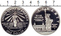 Изображение Монеты США 1 доллар 1986 Серебро Proof Статуя свободы