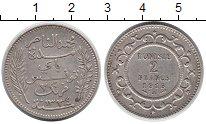 Изображение Монеты Тунис 2 франка 1915 Серебро XF
