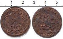 Изображение Монеты Мексика 1/4 реала 1834 Медь XF