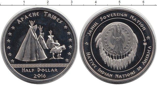 Купить монету америки 1/2 доллара из медно-никеля 2016 года .