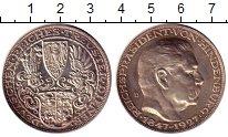 Изображение Монеты Веймарская республика 5 марок 1927 Серебро UNC- Медальный выпуск. D