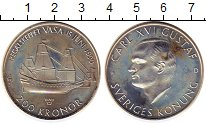 Изображение Монеты Швеция 200 крон 1990 Серебро Proof-