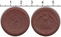 Изображение Монеты Саксония 2 марки 1921 Керамика UNC Саксония