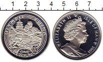 Изображение Монеты Остров Мэн 1 крона 2008 Серебро Proof-