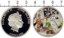Изображение Мелочь Острова Кука 2 доллара 2015 Серебро Proof