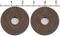Изображение Монеты Восточная Африка 5 центов 1925 Бронза XF