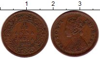 Изображение Монеты Индия 1/12 анны 1883 Бронза XF Виктория