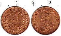 Изображение Монеты Индия 1/12 анны 1915 Бронза XF Георг V