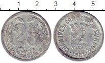 Изображение Монеты Франция 25 сантим 1921 Алюминий VF Токен. Эврё