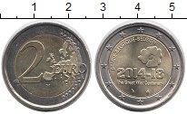 Изображение Монеты Бельгия 2 евро 2014 Биметалл XF