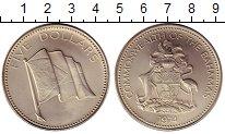 Изображение Монеты Багамские острова 5 долларов 1974 Медно-никель UNC-
