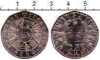 Изображение Мелочь Австрия 5 евро 2018 Медь UNC Новогодняя монета. Г