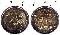 Изображение Монеты Ирландия 2 евро 2016 Биметалл UNC 100 лет Пасхального