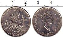Изображение Монеты Канада 25 центов 2000 Медно-никель UNC- Елизавета II. Креати