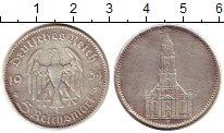 Изображение Монеты Третий Рейх 5 марок 1934 Серебро VF F. Кирха