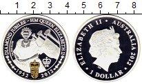 Изображение Монеты Австралия 1 доллар 2012 Серебро Proof