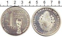 Изображение Монеты Уругвай 1000 песо 2005 Серебро Proof-