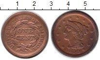 Изображение Монеты США 1 цент 1850 Медь XF-