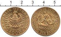 Изображение Монеты Австрия 1000 шиллингов 1976 Золото UNC