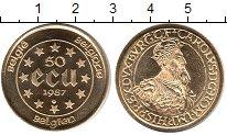 Изображение Монеты Бельгия 50 экю 1987 Золото UNC-