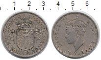 Изображение Монеты Великобритания Родезия 1/2 кроны 1947 Медно-никель XF