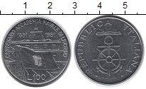 Изображение Монеты Италия 100 лир 1981 Сталь XF