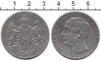 Изображение Монеты Германия Ганновер 1 талер 1866 Серебро XF-