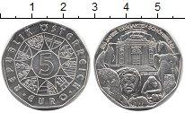 Изображение Монеты Австрия 5 евро 2002 Серебро UNC-