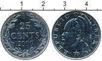 Изображение Мелочь Либерия 25 центов 2000 Медно-никель UNC-
