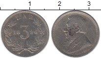 Изображение Монеты ЮАР 3 пенса 1896 Серебро XF