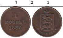 Изображение Монеты Великобритания Гернси 1 дубль 1830 Медь XF