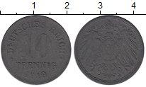Изображение Монеты Германия 10 пфеннигов 1919 Цинк VF
