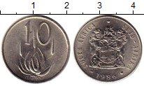Изображение Монеты ЮАР 10 центов 1986 Медно-никель XF