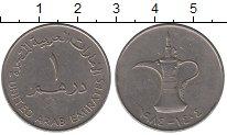Изображение Монеты ОАЭ 1 дирхам 1984 Медно-никель XF