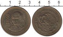 Изображение Монеты Мексика 1000 песо 1988 Латунь XF