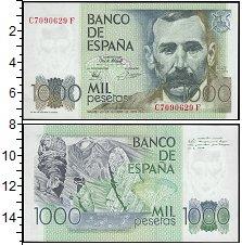 Изображение Банкноты Испания 1000 песет 1979  UNC