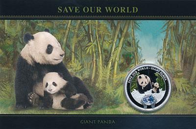 Изображение Подарочные монеты Острова Кука 1 доллар 2013 Серебро Proof Елизавета II. Цветна