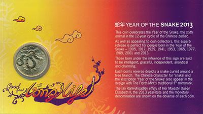 Изображение Подарочные монеты Австралия 1 доллар 2013  UNC