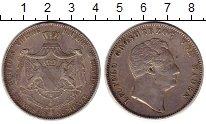 Изображение Монеты Германия Баден 2 талера 1852 Серебро XF
