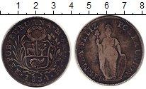 Изображение Монеты Перу 8 реалов 1834 Серебро VF