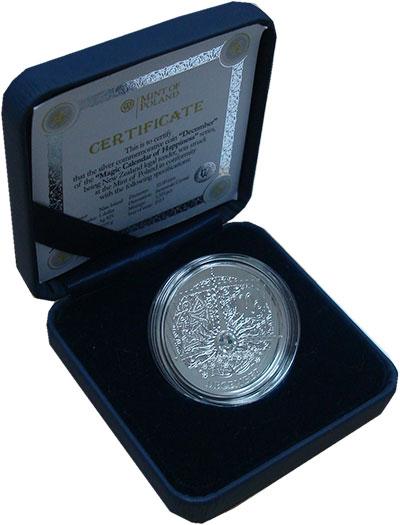 Изображение Подарочные монеты Ниуэ 1 доллар 2013 Серебро Proof