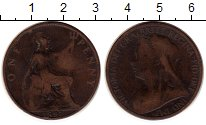 Изображение Монеты Великобритания 1 пенни 1897 Бронза VF