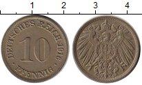 Изображение Монеты Германия 10 пфеннигов 1916 Медно-никель XF+