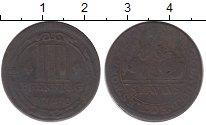 Изображение Монеты Германия Мюнстер 3 пфеннига 1740 Медь XF-