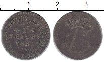 Изображение Монеты Германия Мюнстер 1/48 талера 1745 Серебро VF