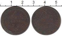 Изображение Монеты Германия Мюнстер 4 пфеннига 1790 Медь XF-