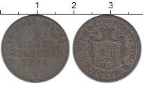 Изображение Монеты Германия Вальдек-Пирмонт 1 грош 1845 Серебро XF-