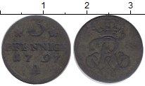 Изображение Монеты Германия Бранденбург 3 пфеннига 1797 Серебро VF